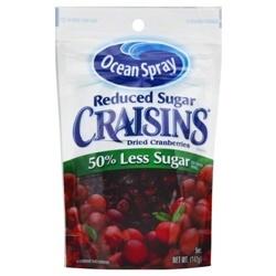Nho Sấy Khô Ocean Spray Craisins 50% Less Sugar 150 g | Thực phẩm - Tiêu dùng