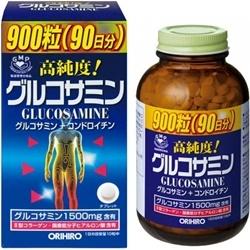 Thuốc bổ xương khớp Glucosamine Orihiro Nhật 1500mg (900 viên)   Thuốc bổ