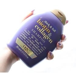 Dầu gội làm dày và dài tóc OGX Thick and Full Biotin and Collagen Shampoo, 385ml | Tóc