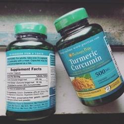 Tinh chất nghệ vàng Puritan's Pride Turmeric Curcumin 500 mg | Thuốc bổ