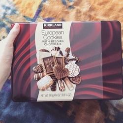 Hộp bánh qui phủ socola Bỉ 1.4kg                      | Các loại bánh kẹo, socola