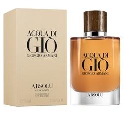 Nước hoa nam Acqua Di Gio Absolu Giorgio Armani edp 75ml      | Nước hoa nam giới