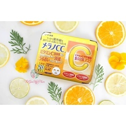 Mặt nạ CC Melano vitamin C                 Da mặt