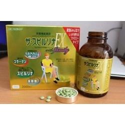 Tảo vàng Spirulina EX Nhật Bản cao cấp 2 hộp 2000 viên  | Thực phẩm chức năng